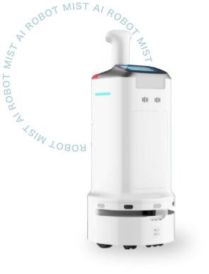 消毒ロボット 「 MIST 」