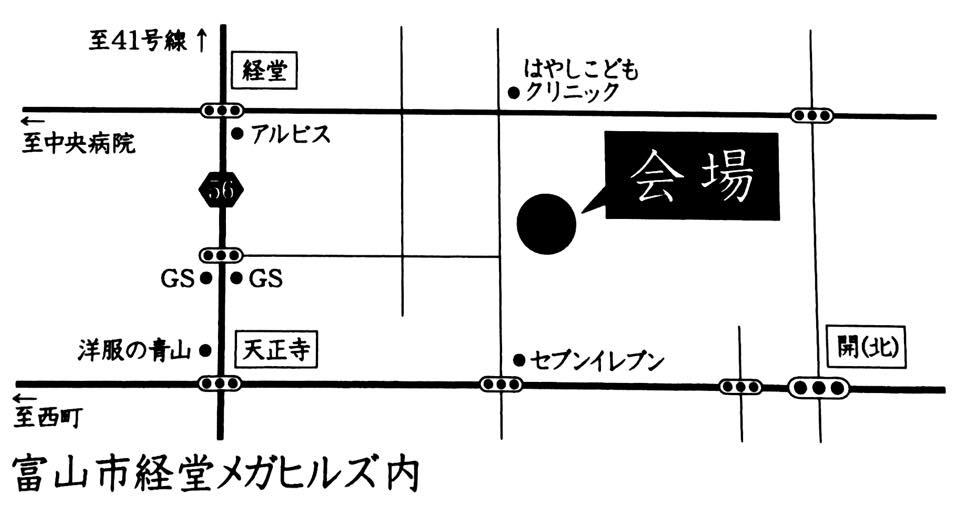 経堂イベント地図
