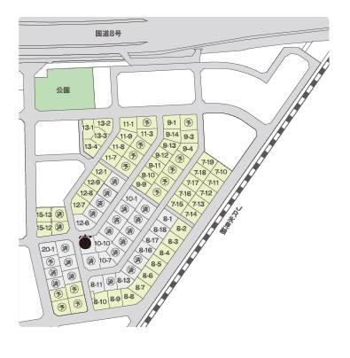 高岡モデル 区画図